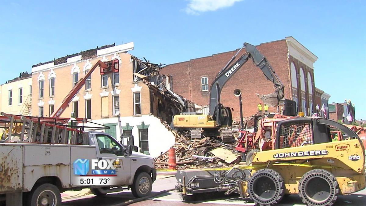 Koneta Hotel begins demolition, likely to become downtown parking area 2.jpg