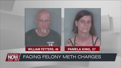 2 people arrested during a traffic stop on drug charges