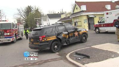 Driver fails to yield at Lima intersection and strikes sheriff's cruiser 1.jpg
