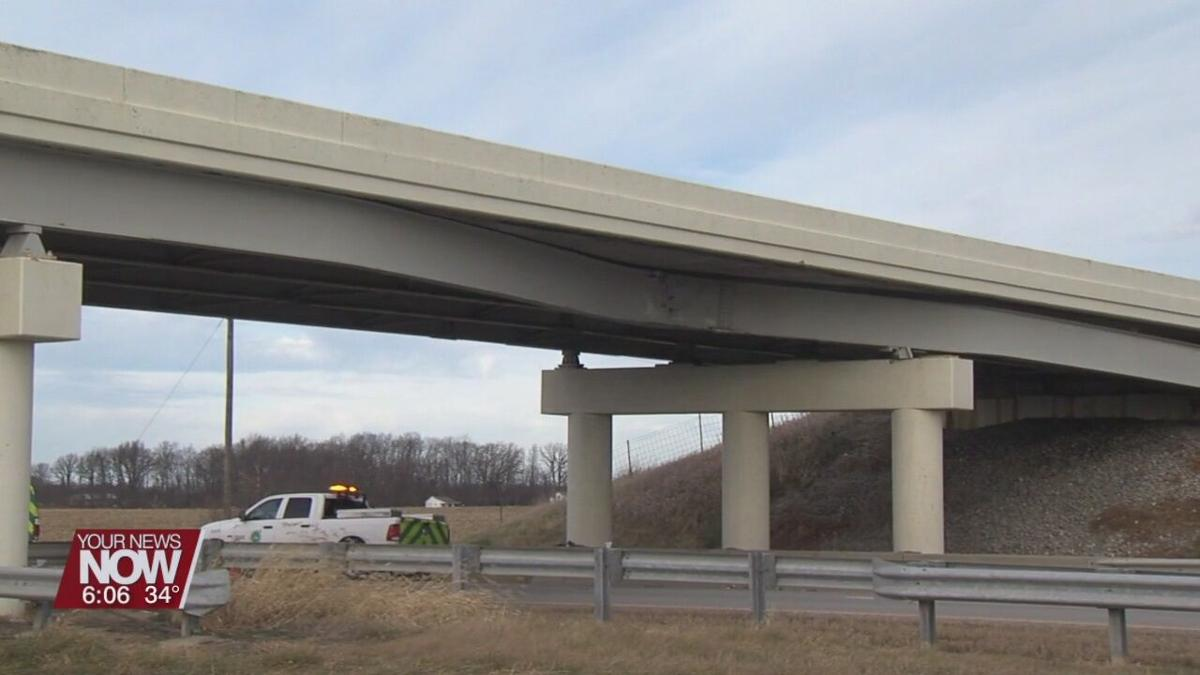 Slabtown Road / U.S. 30 overpass remains closed until further repairs can be completed