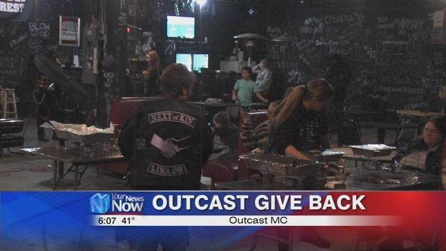 Outcast MC helping others over Thanksgiving | News