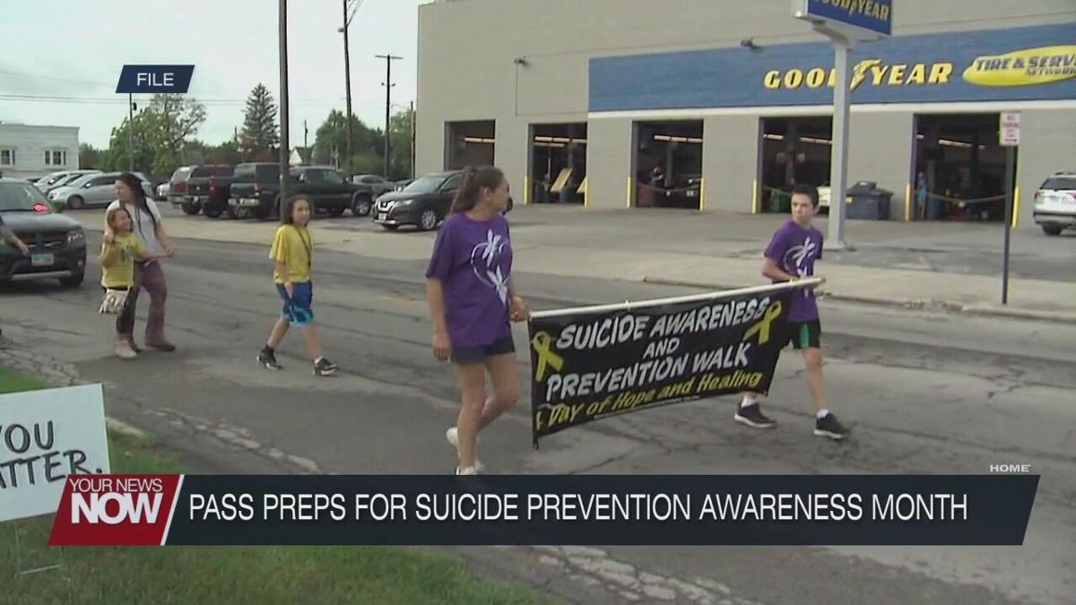 PASS preparing events for Suicide Prevention Awareness Month