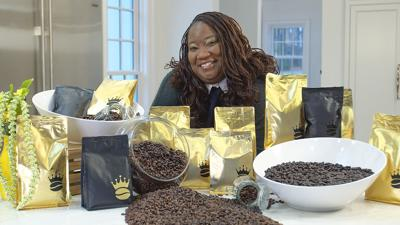 Claudia Shivers, owner of Queen Coffee Bean