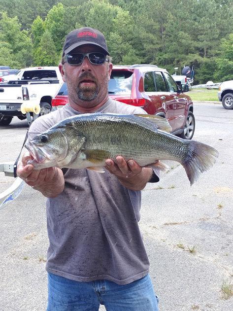 Frazier lands top spot at Jordan Lake
