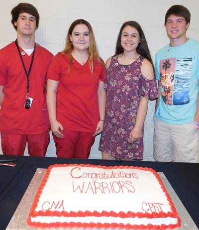 WHS health care sciences ceremony held