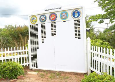 Veterans Wall in Trinity