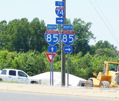 NCDOT settles on design for I-85 interchange