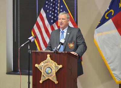 Randolph County Sheriff Greg Seabolt