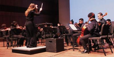 H.P. Youth Symphony players shine at the Logan Center