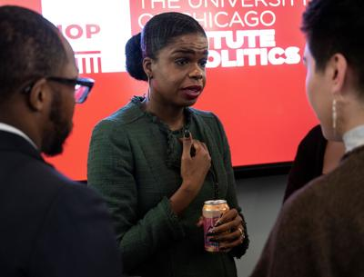 State's Attorney Kim Foxx makes progressive case for re-election at town hall