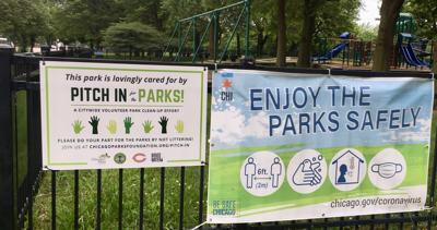Jackson Park signs