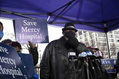 Jitu Brown Save Mercy Rally