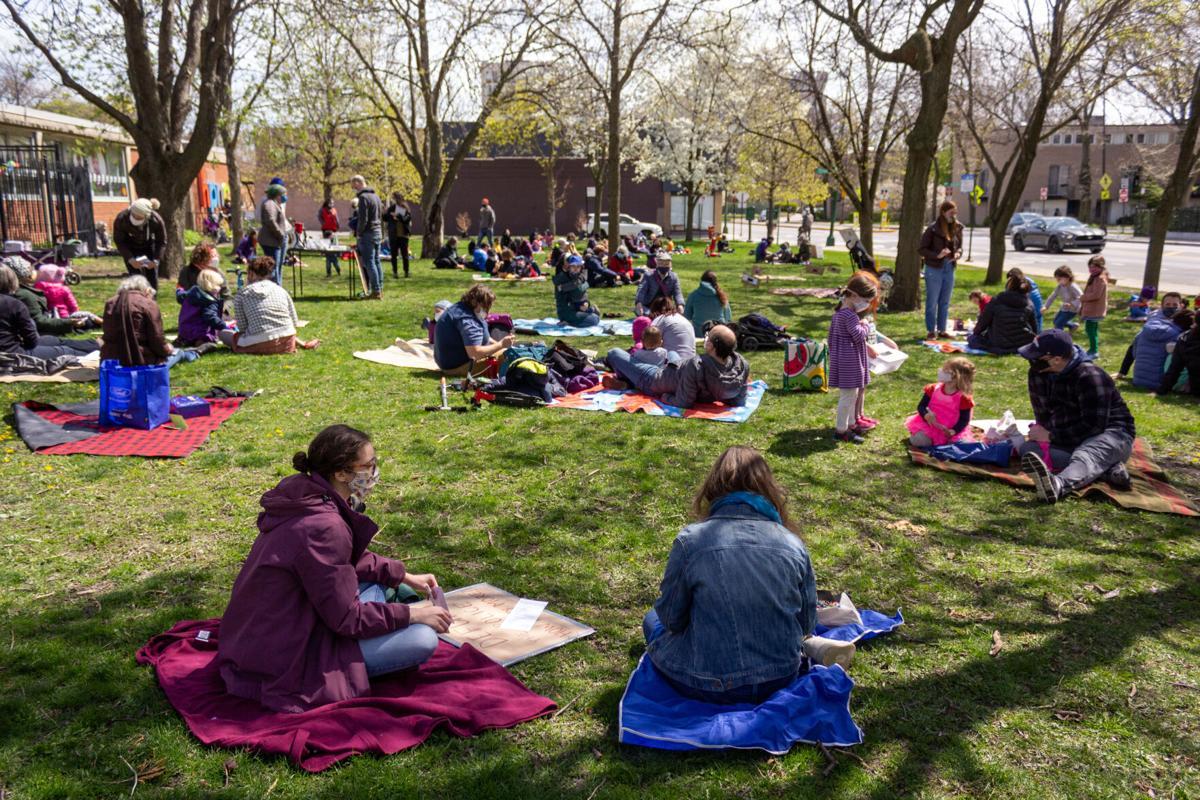 Nichols Park sit-in #2