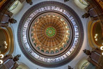 Ill. Capitol dome