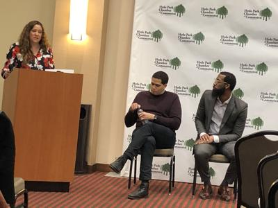 Peters, Tarver address key issues during Chamber of Commerce forum