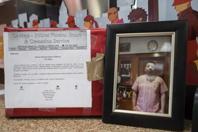 At 53rd Street Dunkin' Donuts, a memorial for a son killed