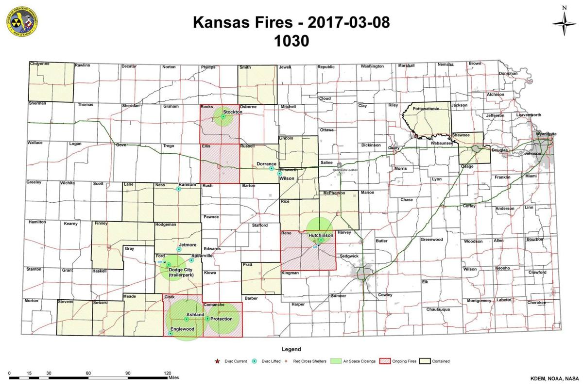 Update on High Plains wildfires Ag News
