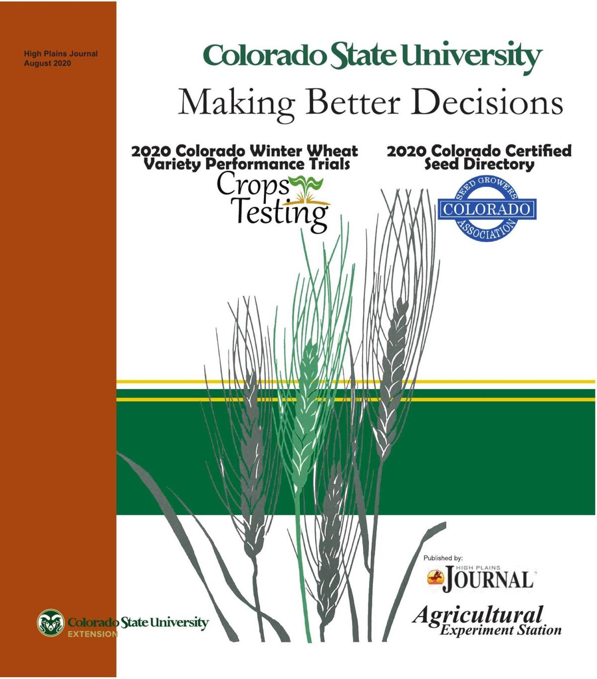 2020 Colorado Wheat Seed Book