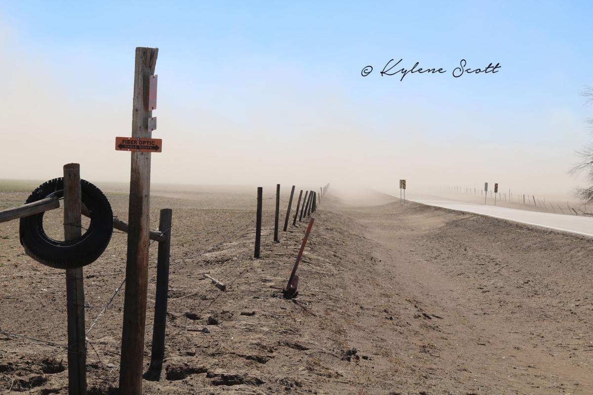 Blowing dust in Clark County