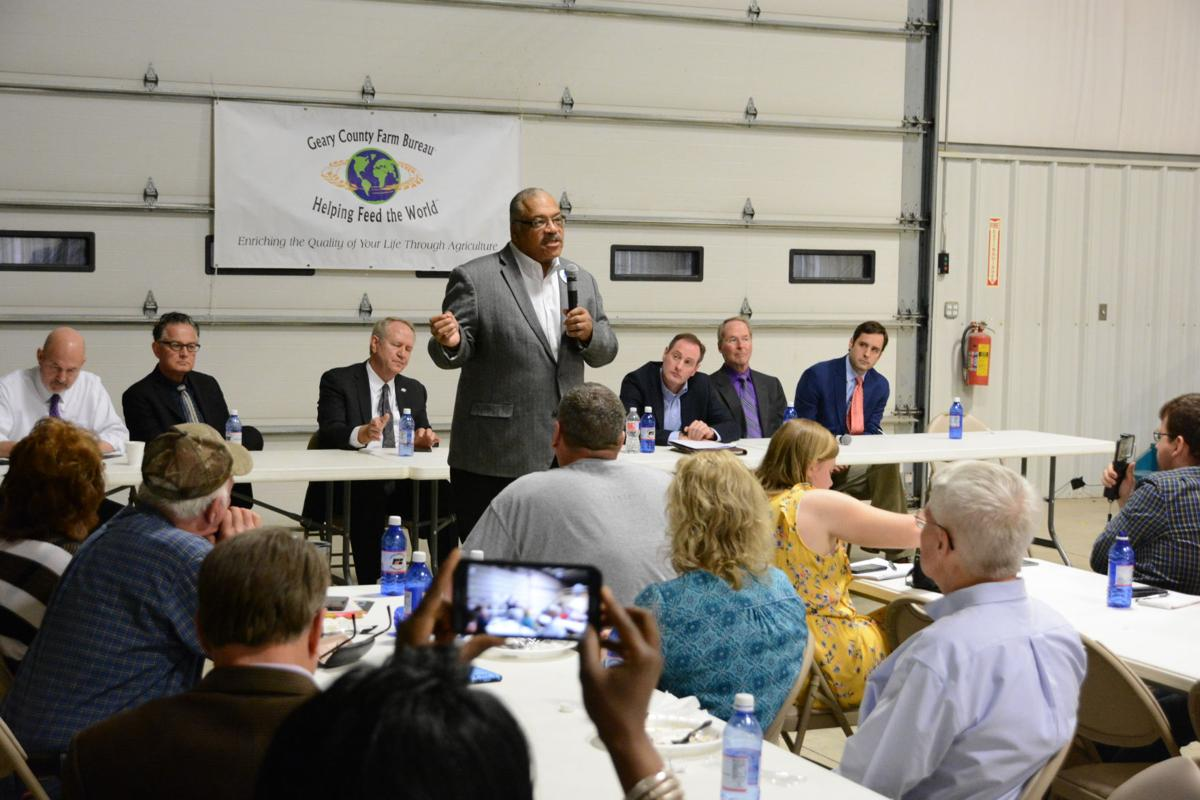 Candidates for governor speak about rural economy