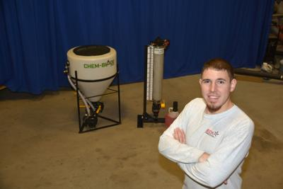 Kansas inventor expands chemical handling product lineup