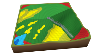 Illustration_FieldNET Advisor_3D Field_Depletion with Gride and Base.png