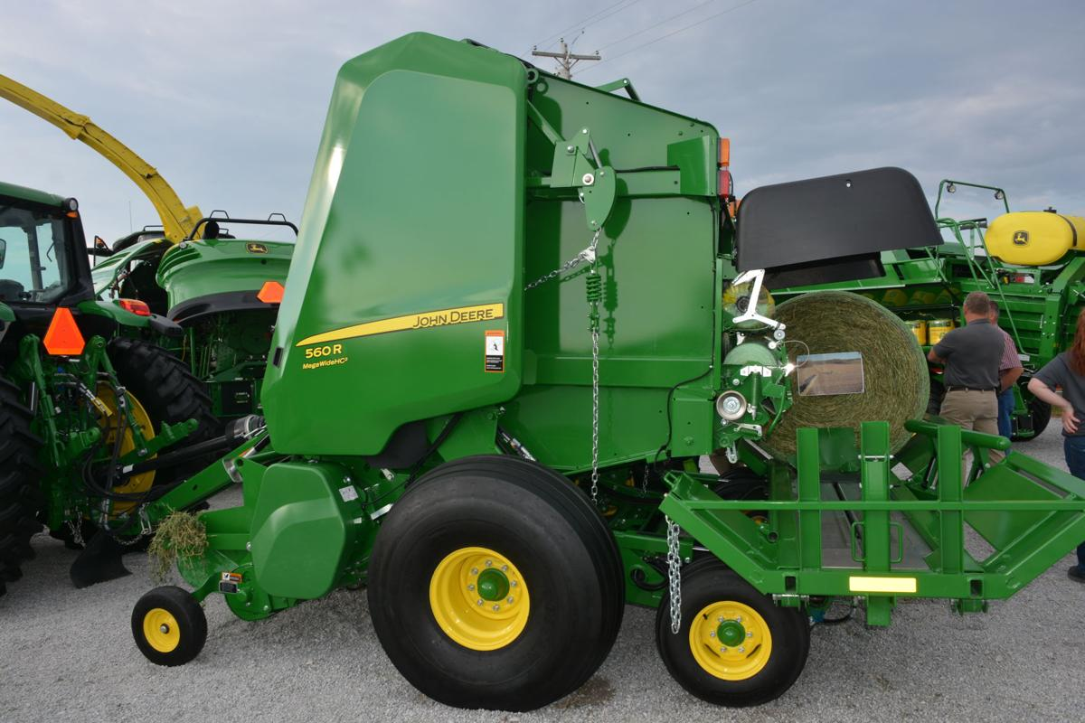 Deere unveils new round, square balers at Husker Harvest