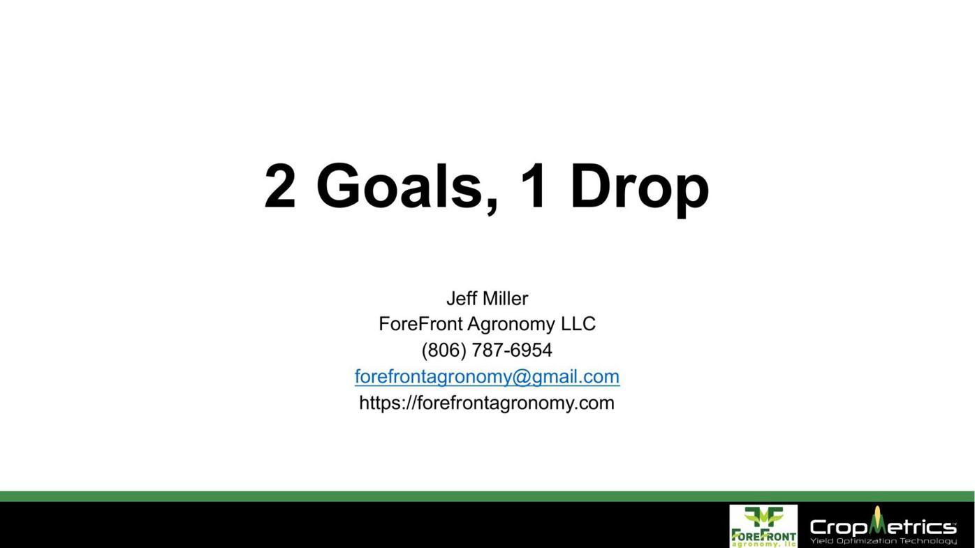 Jeff Miller - Cotton U Presentation