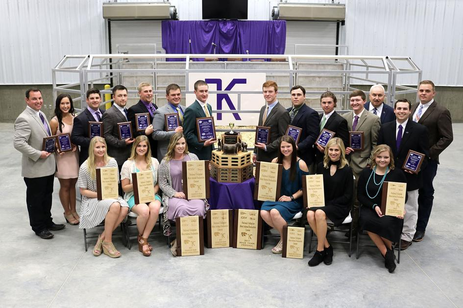 Kansas State University Animal Science student teams win national recognition