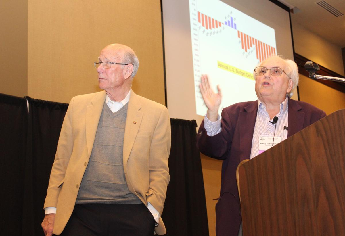 Pat Roberts and Barry Flinchbaugh