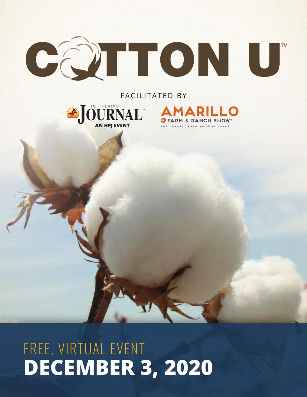 2020 Cotton U Program