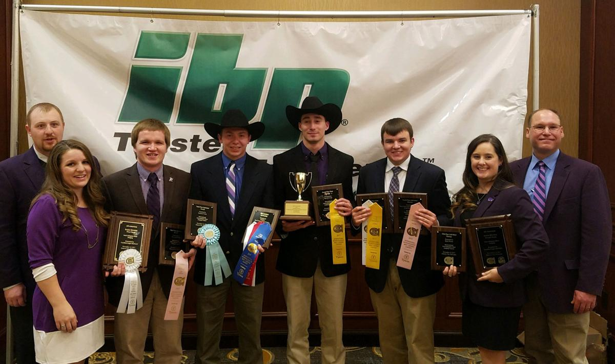 Kansas State University Animal Science Student Teams Win