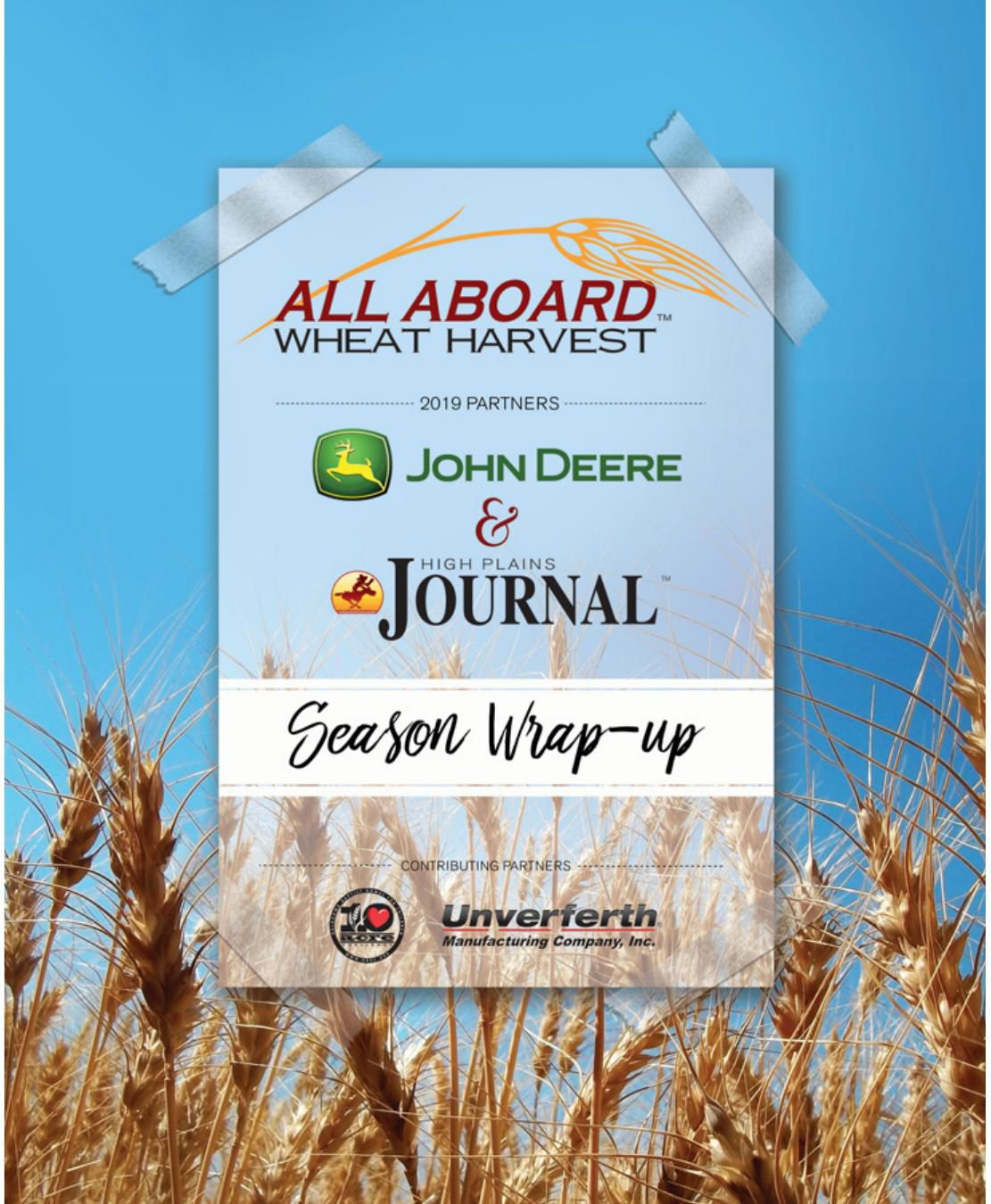 All Aboard Wheat Harvest Wrap-up