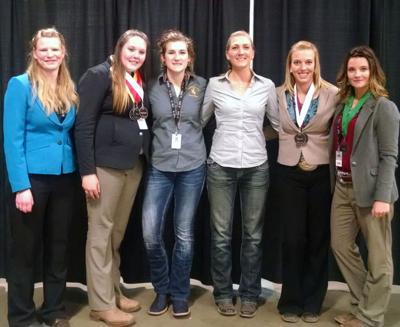 University of Wyoming Horse Judging Team