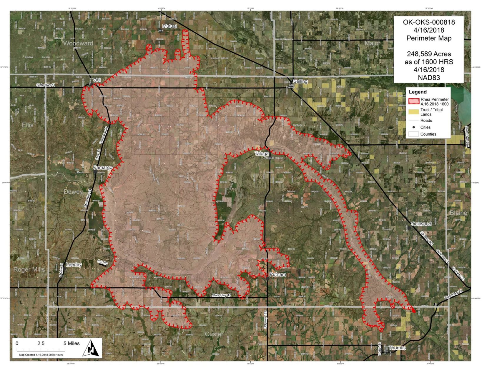 Officials predict worst fire conditions in 10
