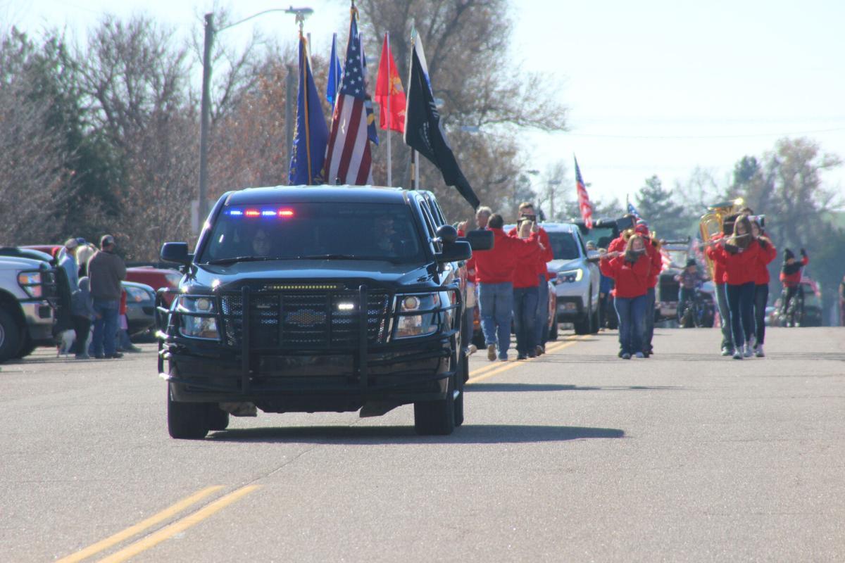 Bucklin Veterans Day Parade