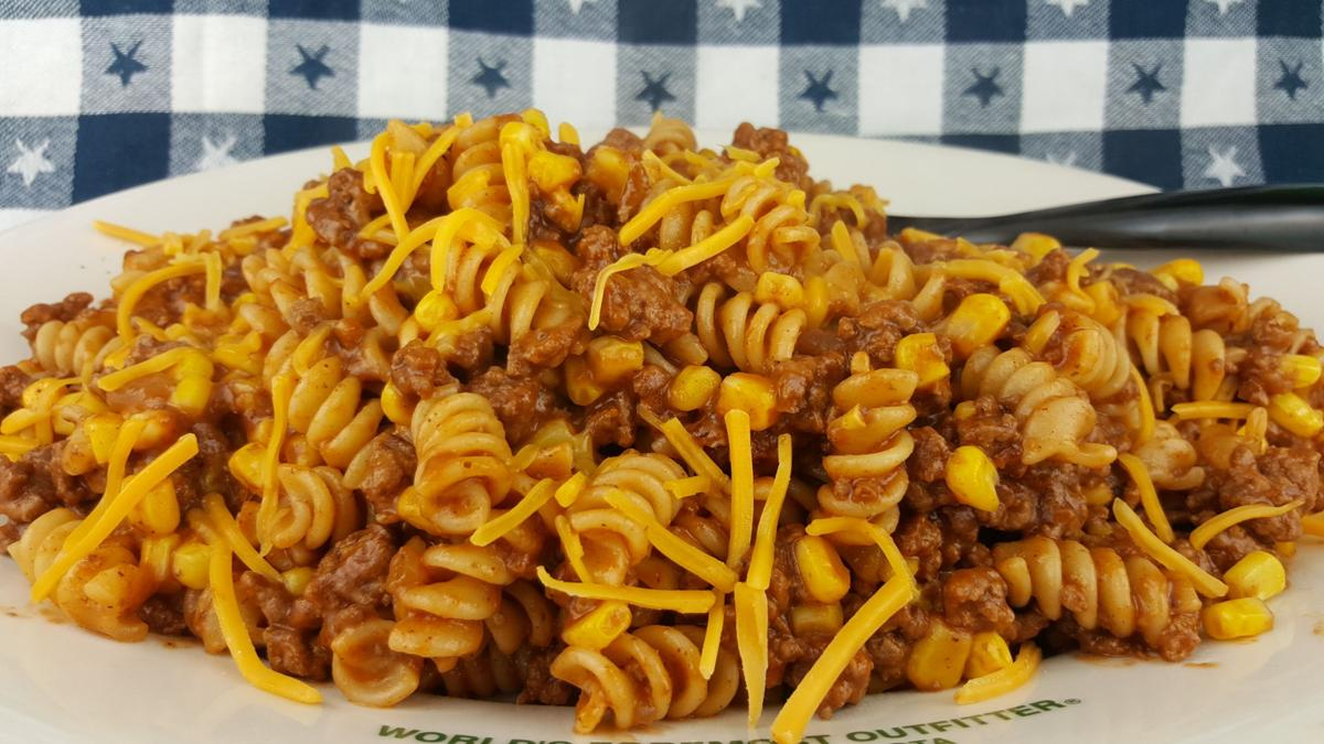 Beef and Rotini Noodles