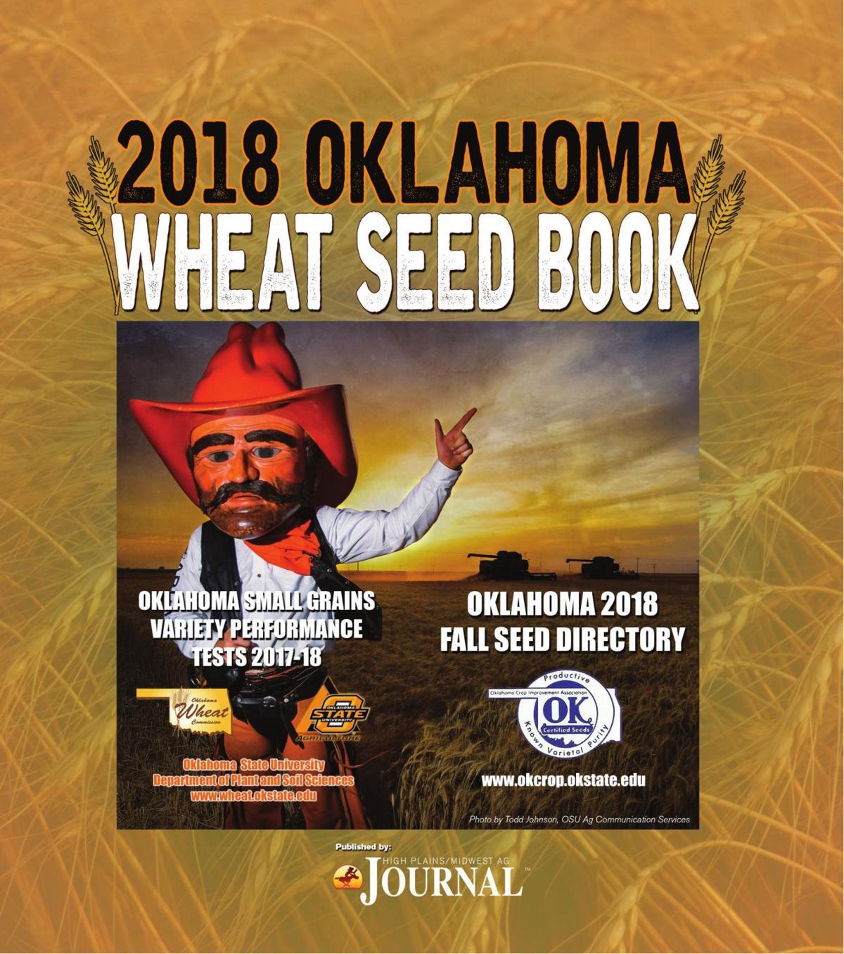 2018 Oklahoma Wheat Seed Book