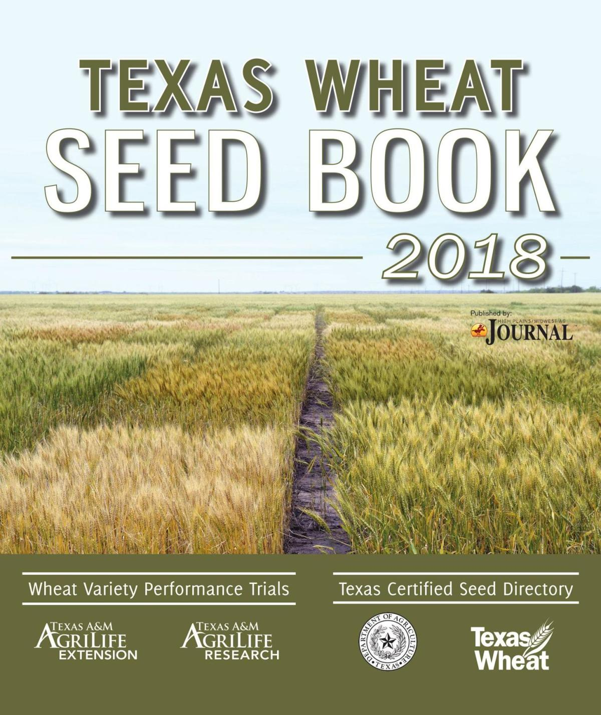 2018 Texas Wheat Book
