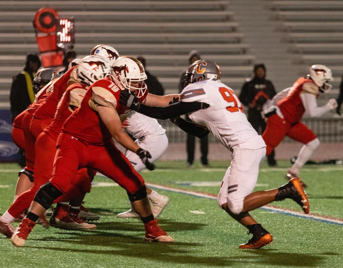 Coronado offensive line