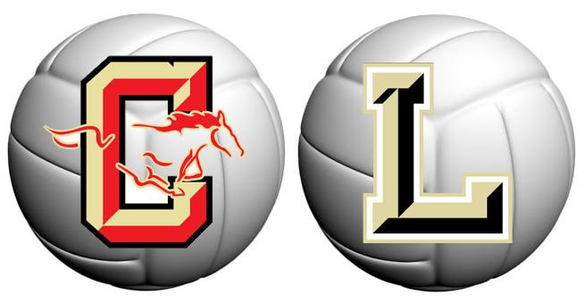 Coronado-LHS volleyball logo