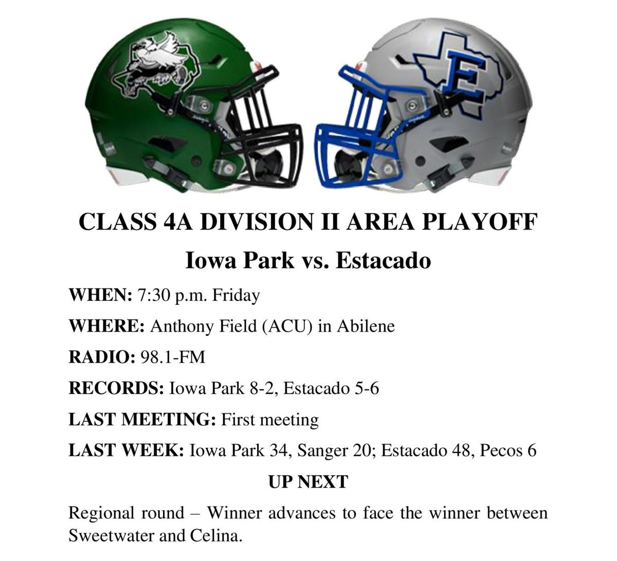 Iowa Park-Estacado breakout