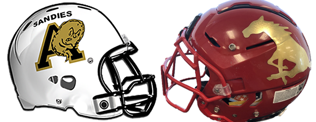 Amarillo High-Coronado helmets