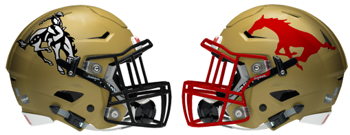 Lubbock High-Coronado helmets