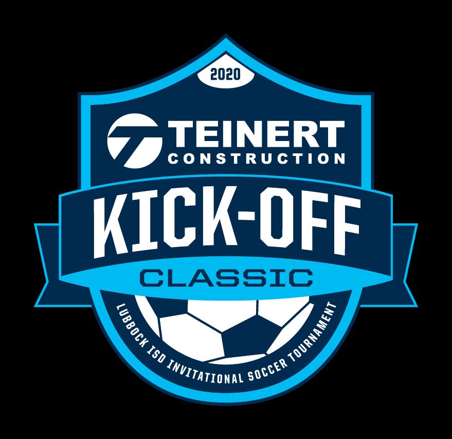 kick off classic soccer logo