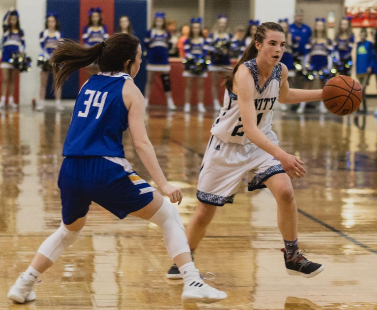 BASKETBALL | Trinity star Adlee Blacklock has no plans on letting up on the next phase of her journey