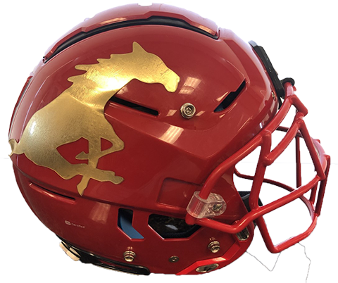 Coronado helmet left