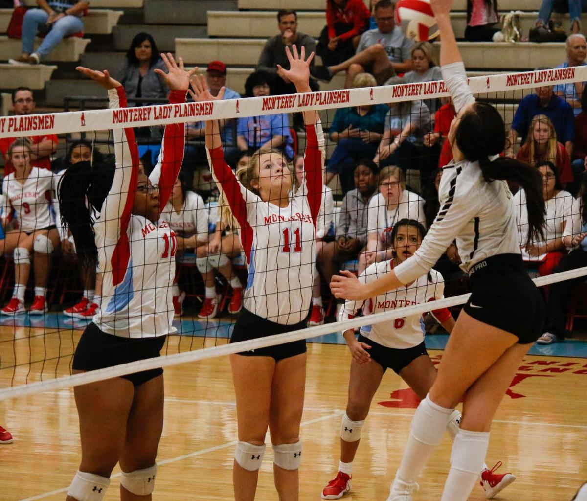 VOLLEYBALL | After a strong start, Monterey's scuffles open the door for Amarillo to pull away