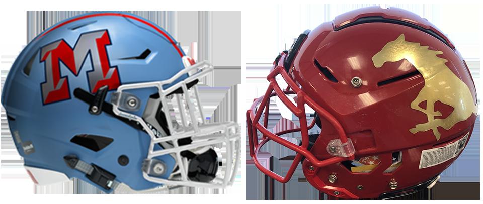 Monterey-Coronado helmets