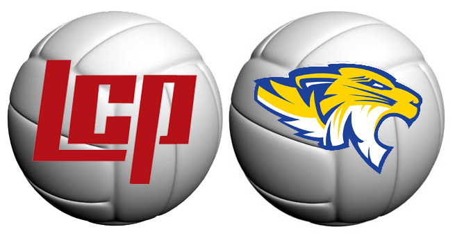 LCP-Frenship volleyball logo